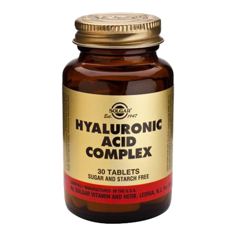 VMS - Solgar Hyaluronic Acid Complex 1200 Mg 30 Tablets