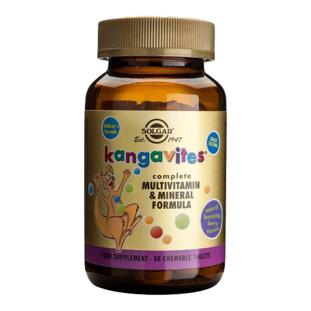 VMS - Solgar Kangavites® Multivitamin & Mineral Bouncing Berry 60 Chewables