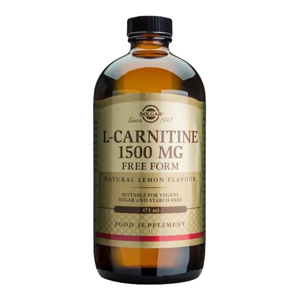 VMS - Solgar L-Carnitine 1500 Mg 472 Ml Liquid