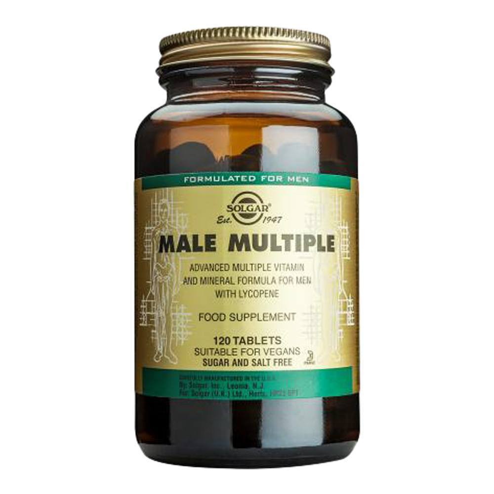VMS - Solgar Male Multiple 120 Tablets