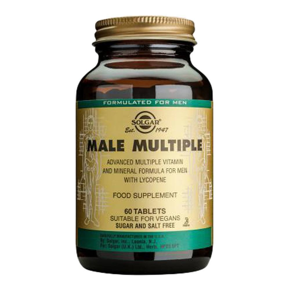 VMS - Solgar Male Multiple 60 Tablets