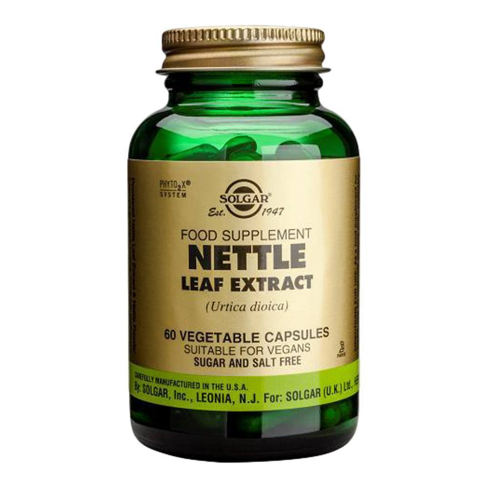 VMS - Solgar Nettle Leaf Extract 275 Mg 60 Capsules