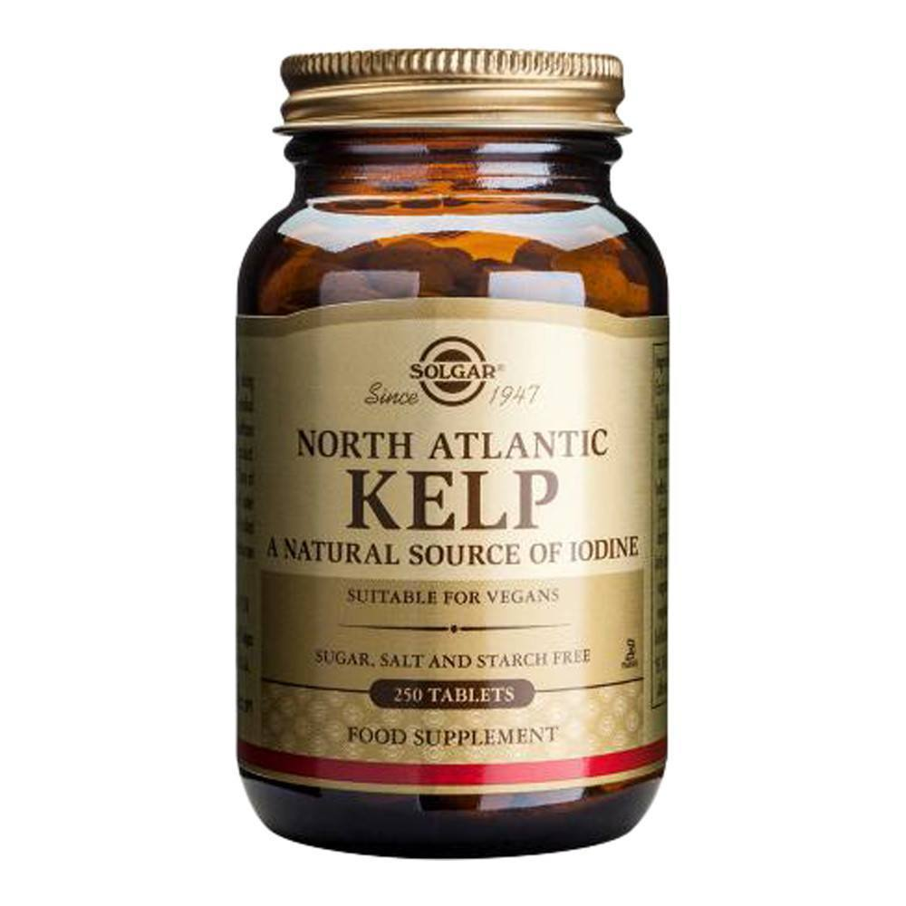 VMS - Solgar North Atlantic Kelp Iodine 200 Mcg 250 Tablets