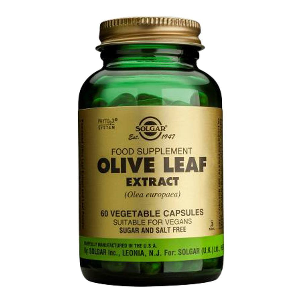 VMS - Solgar Olive Leaf Extract 225 Mg 60 Capsules