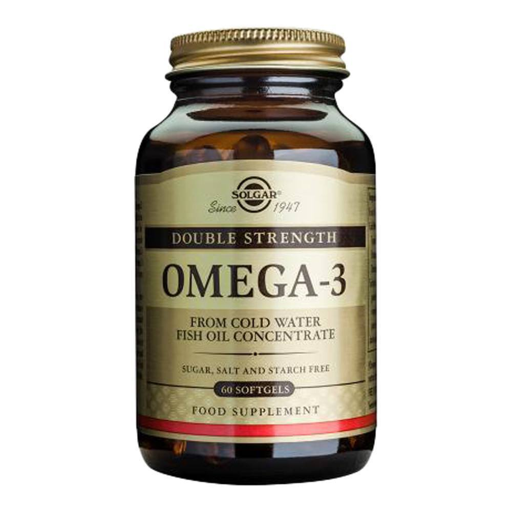 VMS - Solgar Omega-3 Double Strength EPA 360 Mg And DHA 240 Mg 60 Softgels