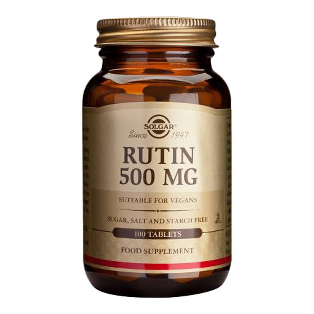 VMS - Solgar Rutin 500 Mg 100 Tablets