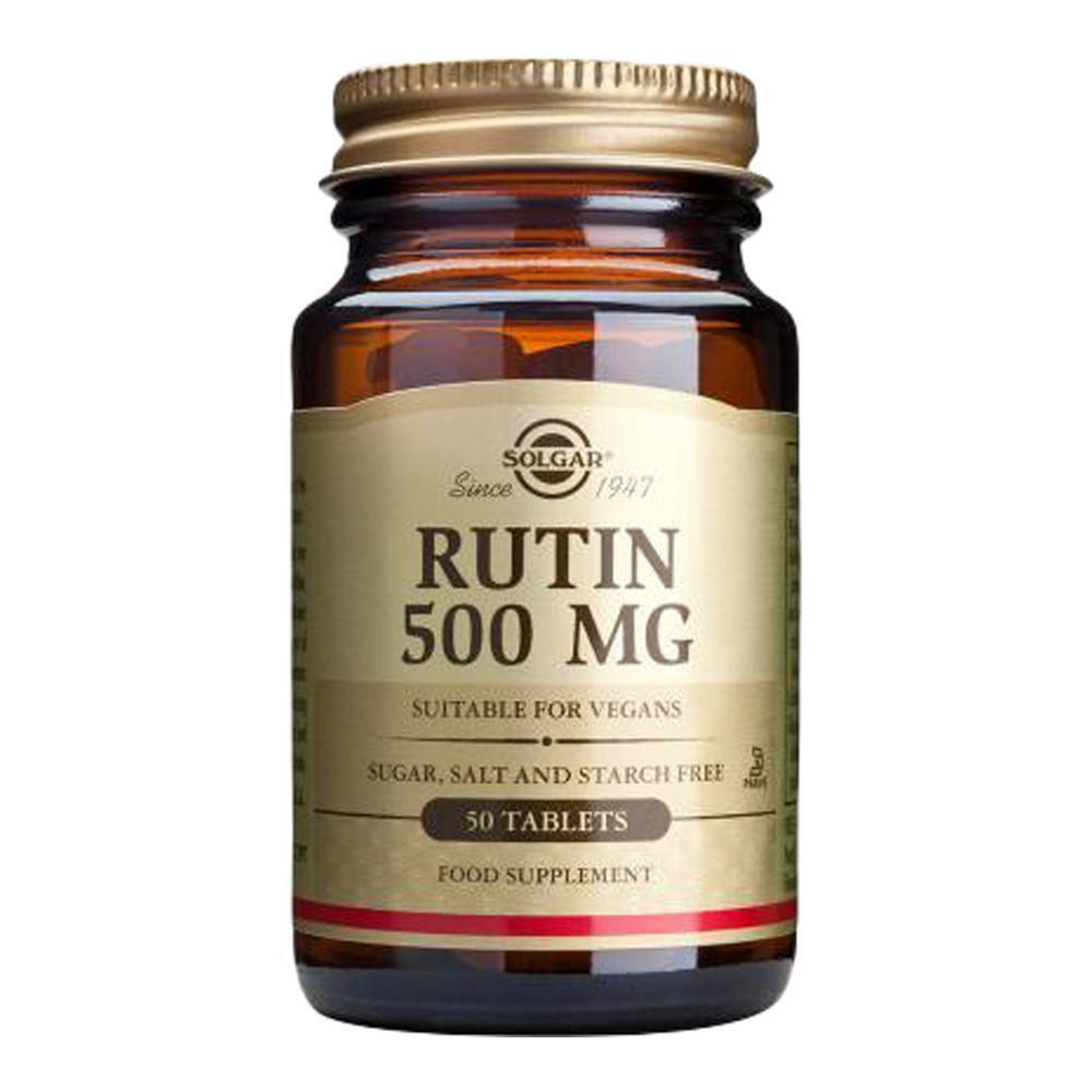 VMS - Solgar Rutin 500 Mg 50 Tablets