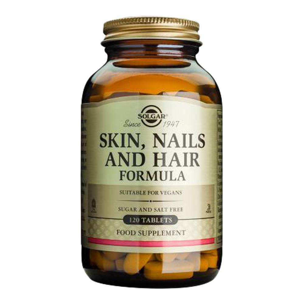 VMS - Solgar Skin, Nails And Hair Formula 120 Tablets