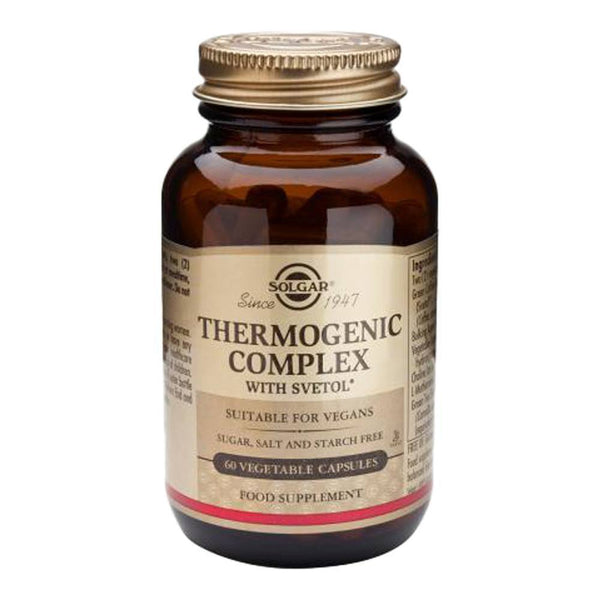 VMS - Solgar Thermogenic Complex With Svetol® 60 Capsules