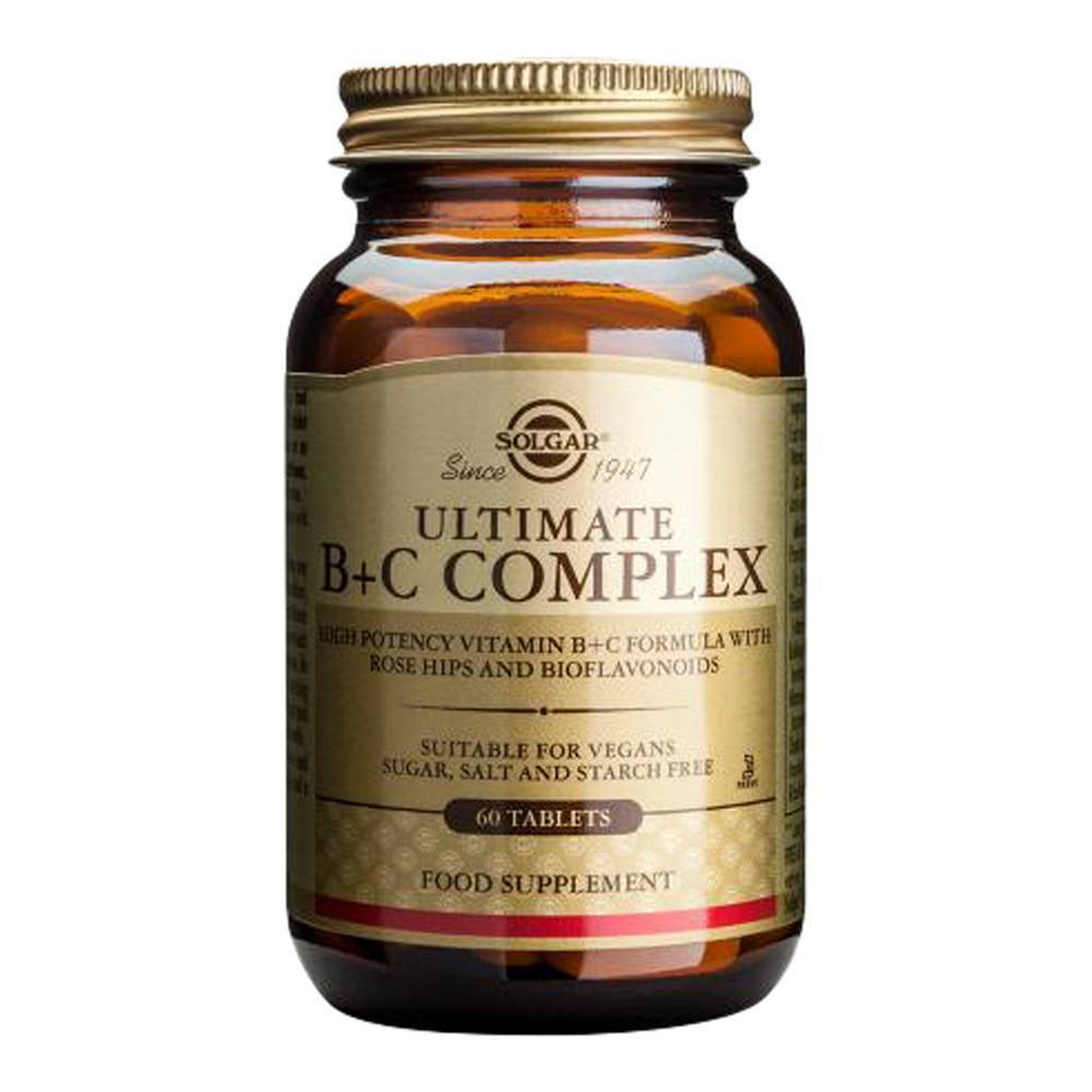 VMS - Solgar Ultimate B + C Complex 60 Tablets