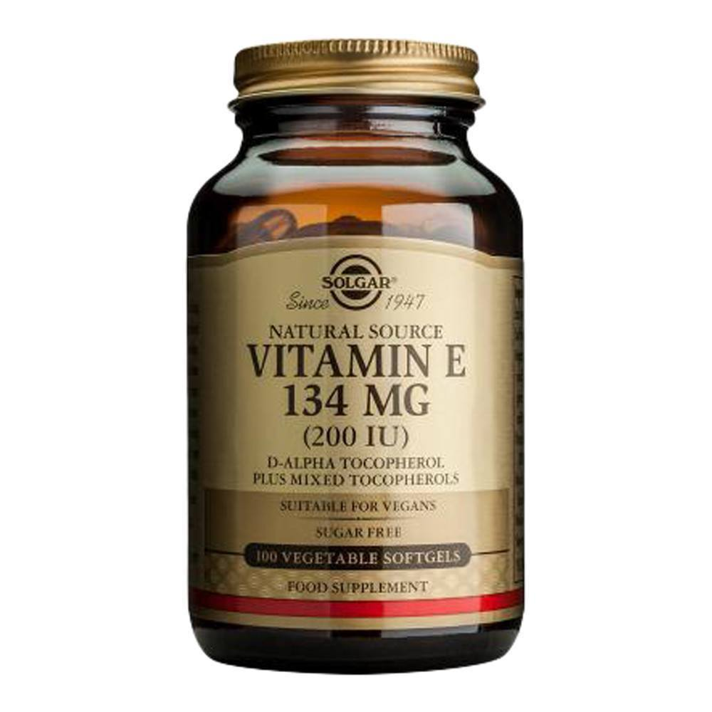 VMS - Solgar Vegetarian Vitamin E 200 IU 100 Softgels