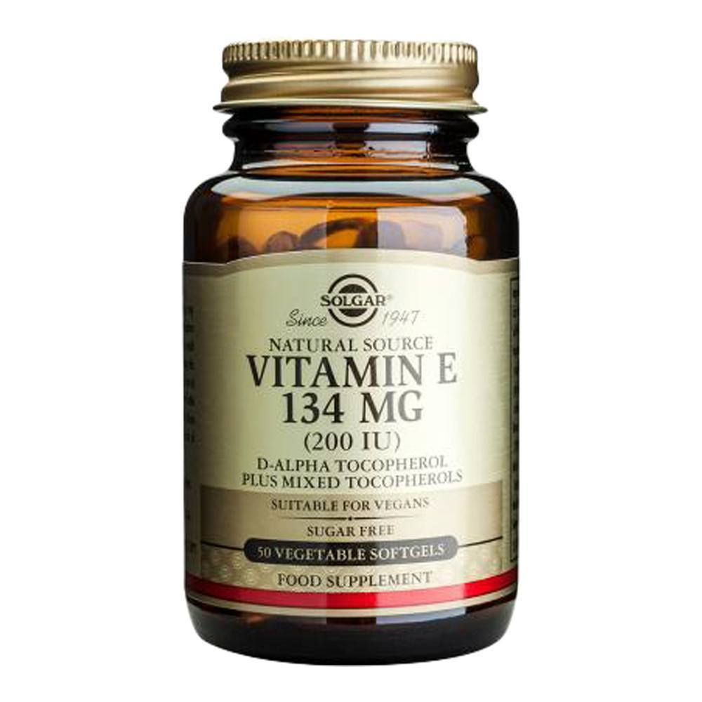 VMS - Solgar Vegetarian Vitamin E 200 IU 50 Softgels