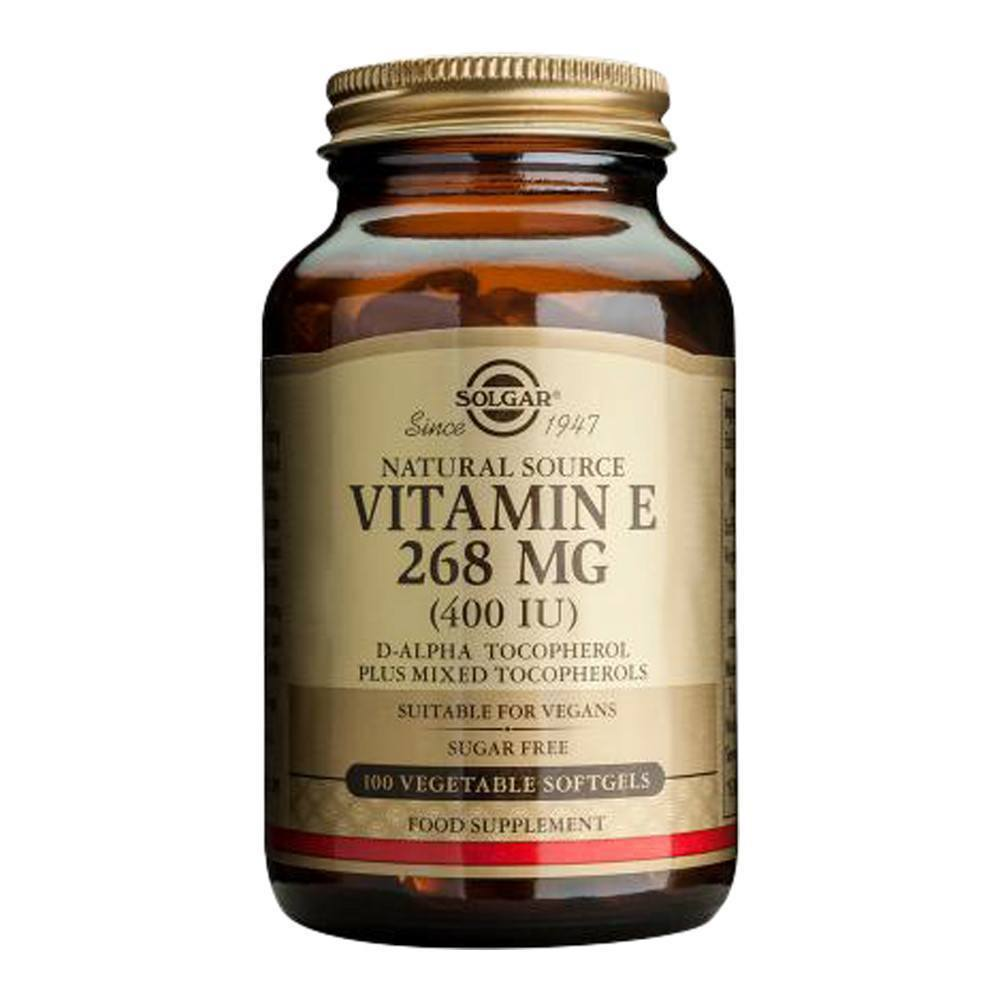 VMS - Solgar Vegetarian Vitamin E 400 IU 100 Softgels