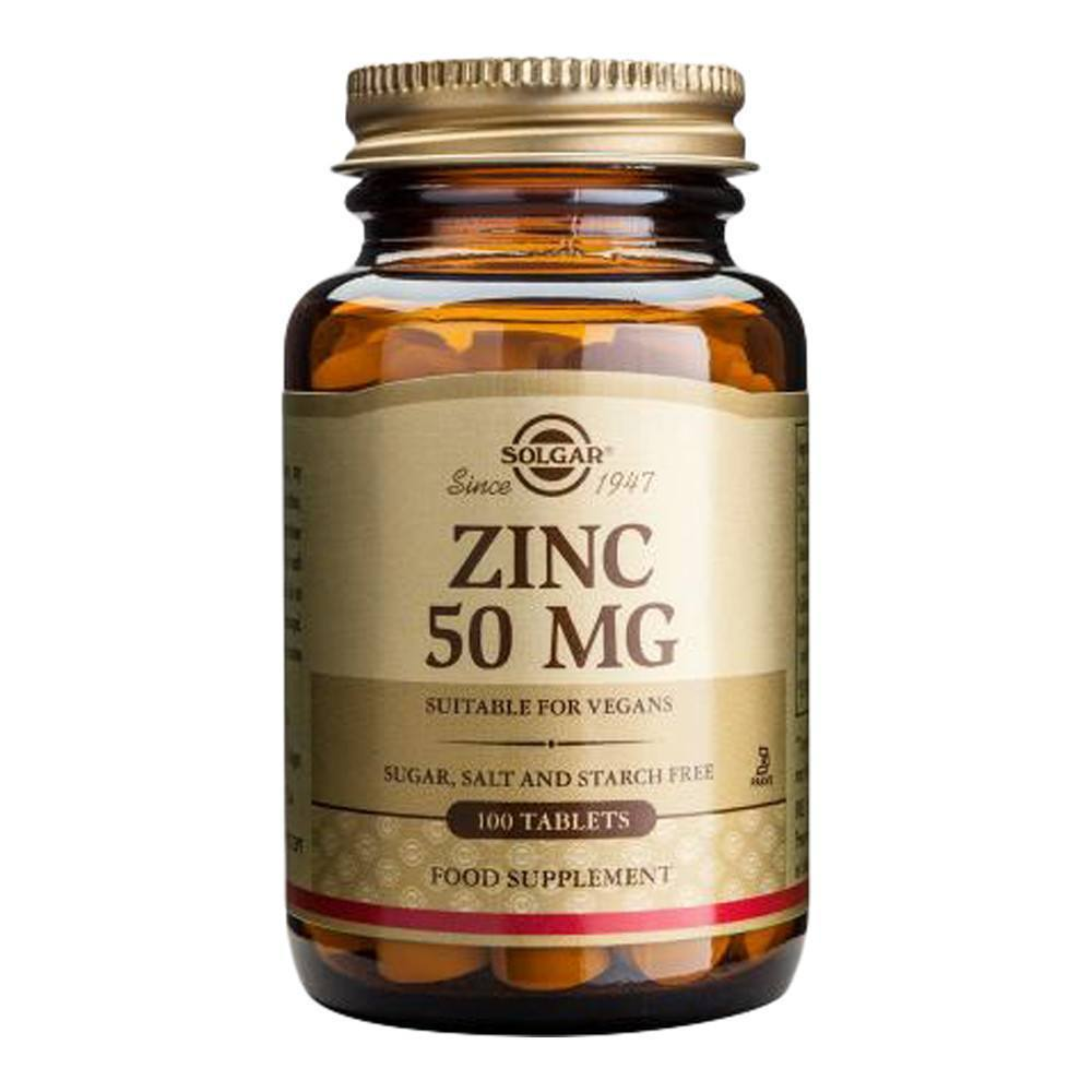 VMS - Solgar Zinc 50 Mg 100 Tablets