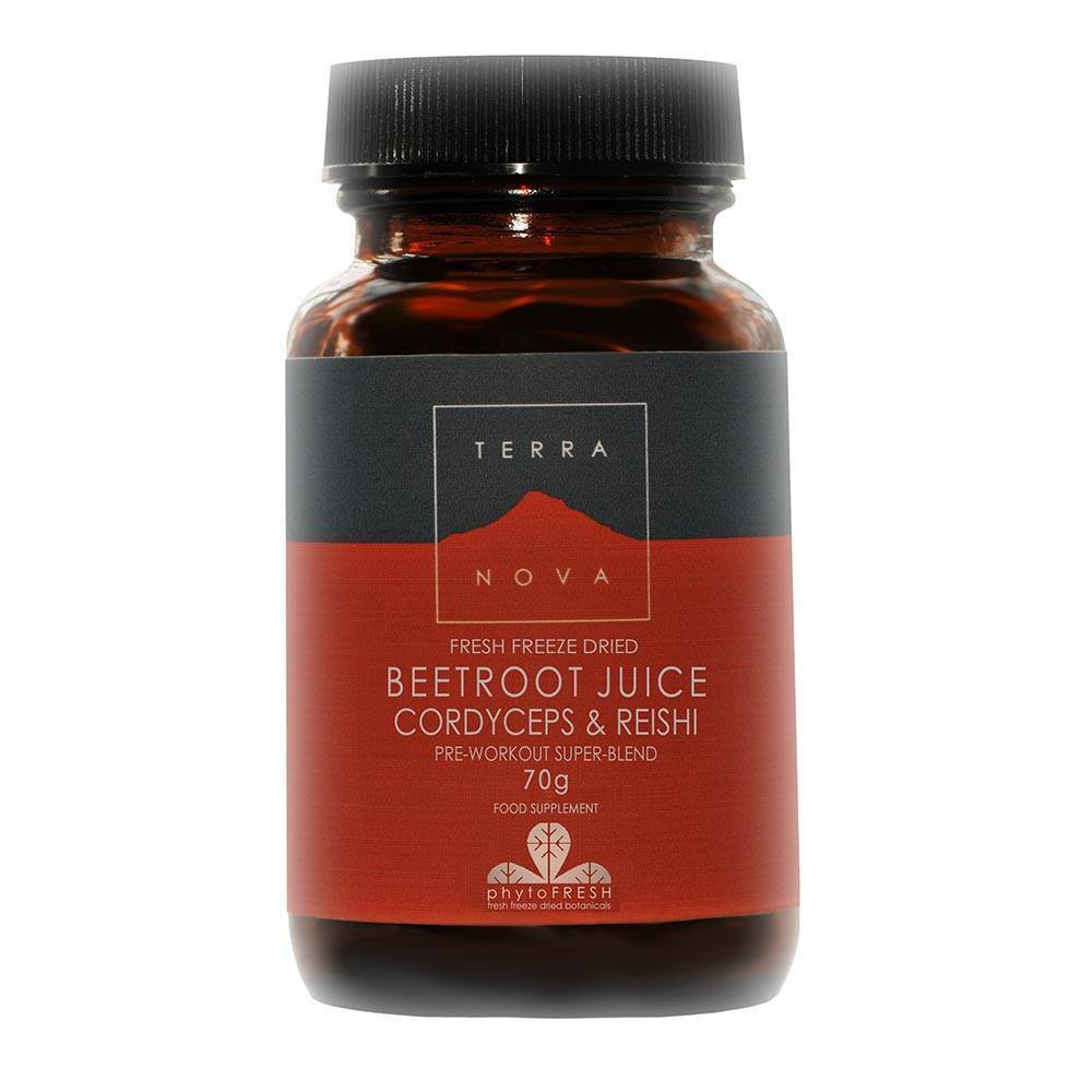 VMS - Terranova Beetroot Cordyceps And Reishi Super Blend 70 G Powder