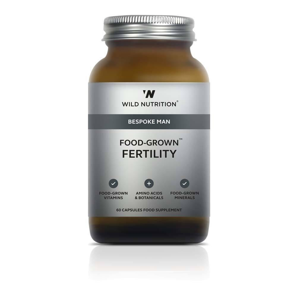 VMS - Wild Nutrition Bespoke Mens Food-Grown Fertility 60 Capsules
