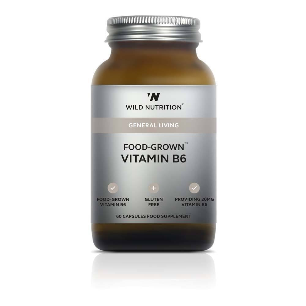 VMS - Wild Nutrition Food-Grown Vitamin B6 60 Capsules