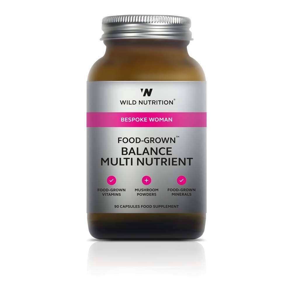 VMS - Wild Nutrition Woman Food-Grown Balance Multivitamin 90 Capsules