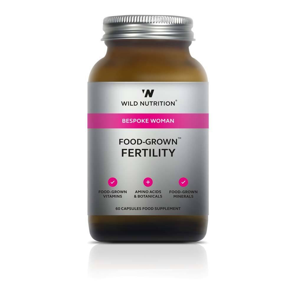 VMS - Wild Nutrition Woman Food-Grown Fertility 60 Capsules