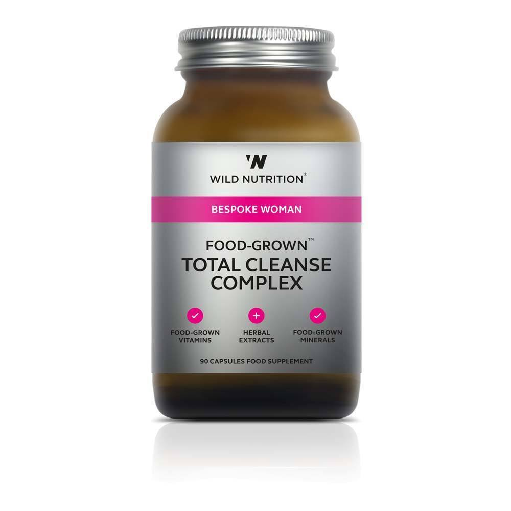 VMS - Wild Nutrition Woman Food-Grown Total Cleanse Complex 90 Capsules