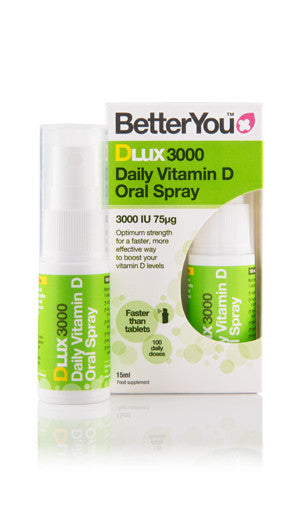 BetterYou DLux 3000 Spray, 15ml