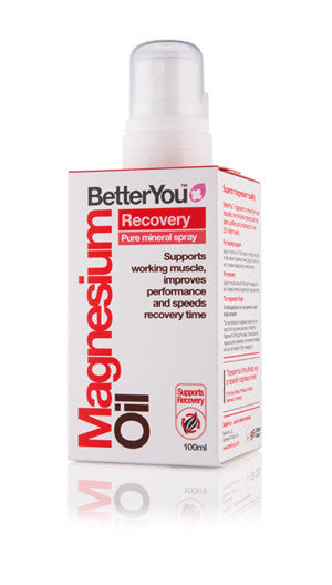 BetterYou Magnesium Oil Spray Sport, 100ml