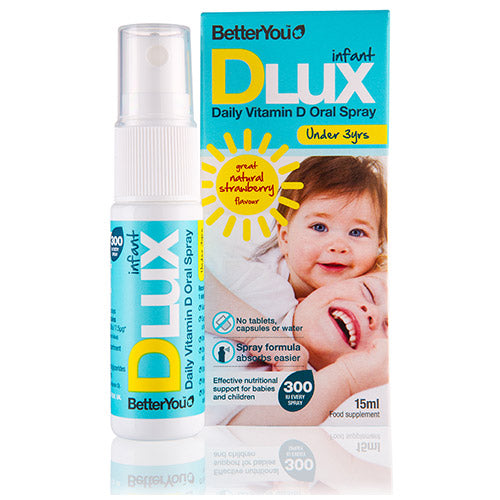 BetterYou DLux Infant, Strawberry, 15ml