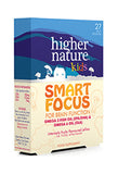 Higher Nature Smart Focus Kids Omega, 27 Capsules