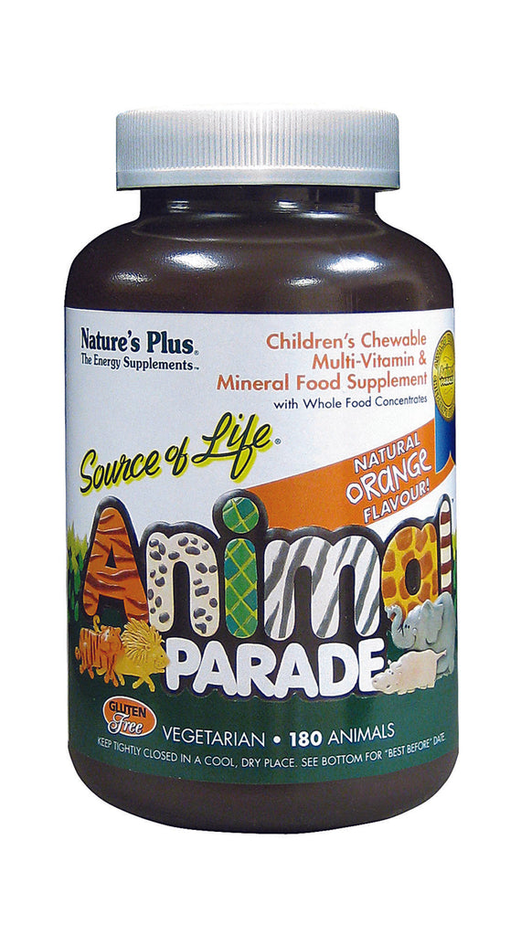 Nature's Plus Animal Parade, Orange, 180 Tablets