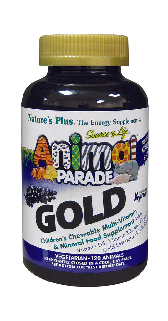 Nature's Plus Animal Parade Gold Grape, 120 Chewables