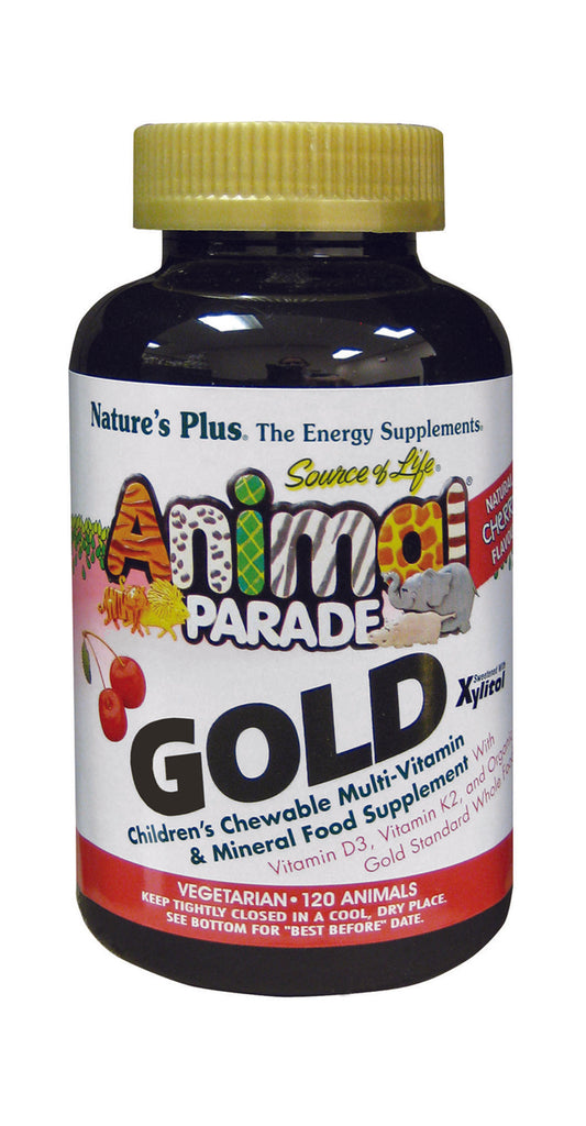 Nature's Plus Animal Parade Gold, Cherry, 120 Chewables
