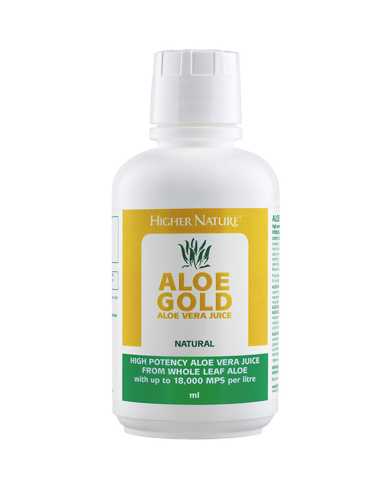 Higher Nature Aloe Gold Natural, 485ml