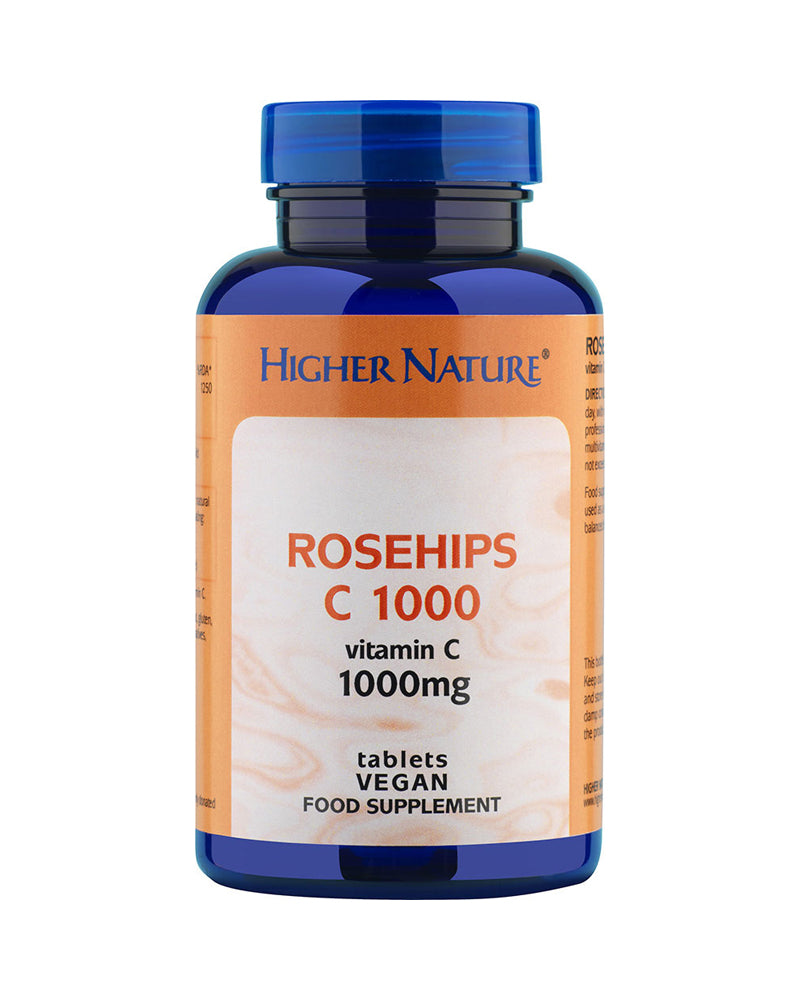 Higher Nature Rosehips C, 1000mg, 180Tabs