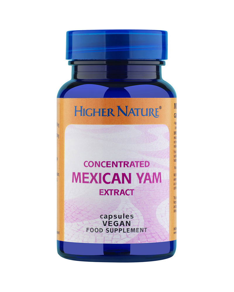 Higher Nature Concentrated Mexican Yam Extract, 30VCaps