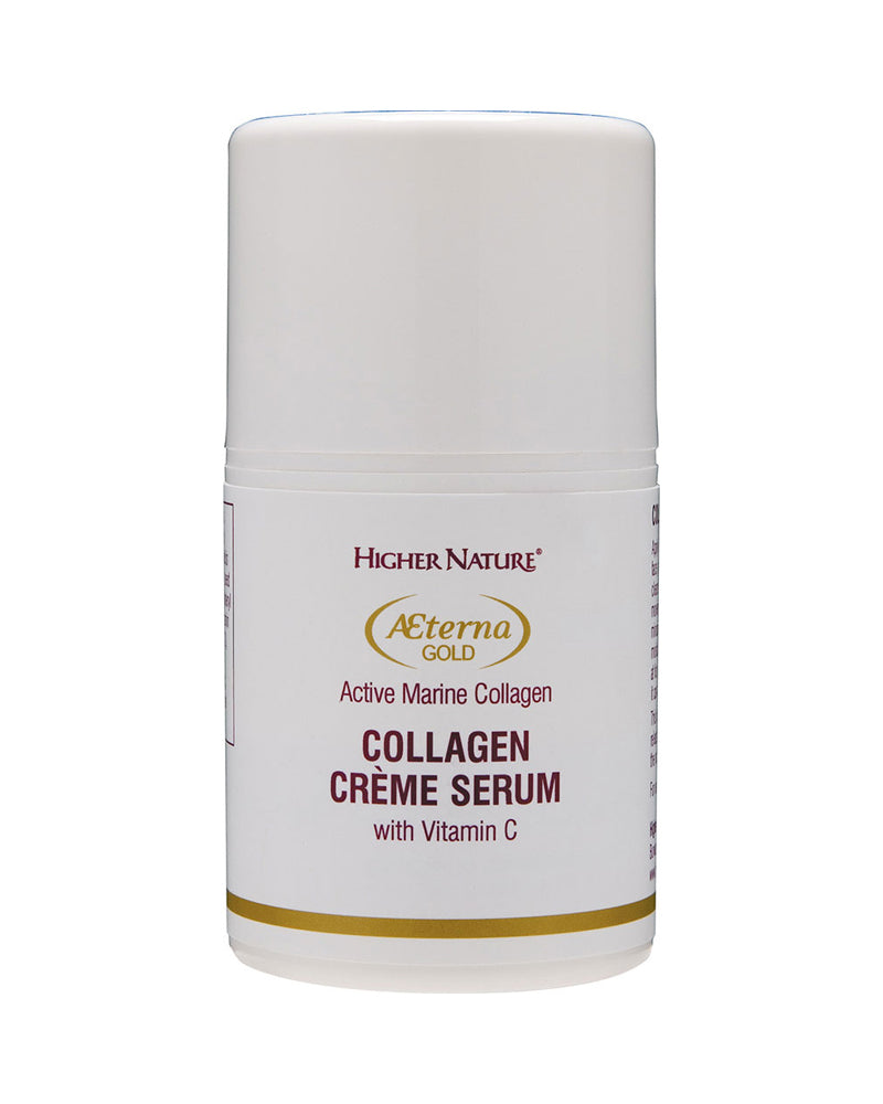 Higher Nature Aeterna Gold Collagen Creme Serum, 50ml
