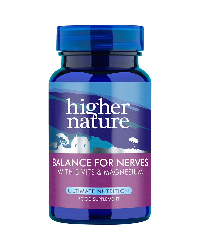 Higher Nature Balance for Nerves, 90VCaps