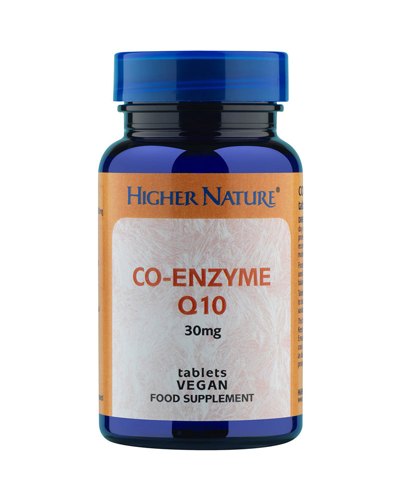 Higher Nature Co-Enzyme Q10, 30mg, 30Tabs