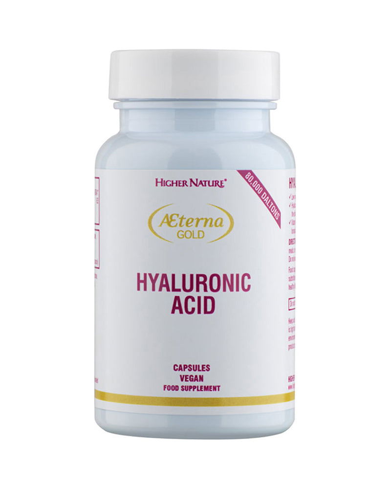Higher Nature Aeterna Gold Hyaluronic Acid, 30Caps