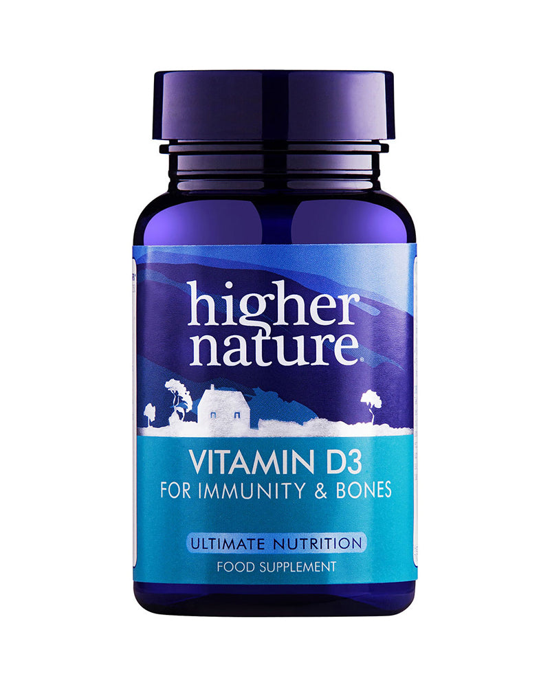 Higher Nature Vitamin D, 500iu, 120VCaps
