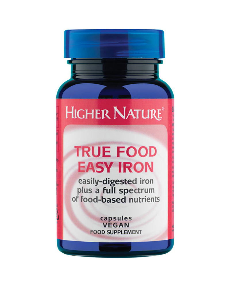 Higher Nature True Food Easy Iron, 90Caps
