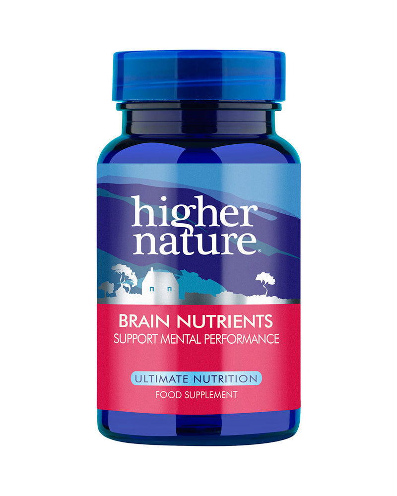 Higher Nature Brain Nutrients, 90VCaps