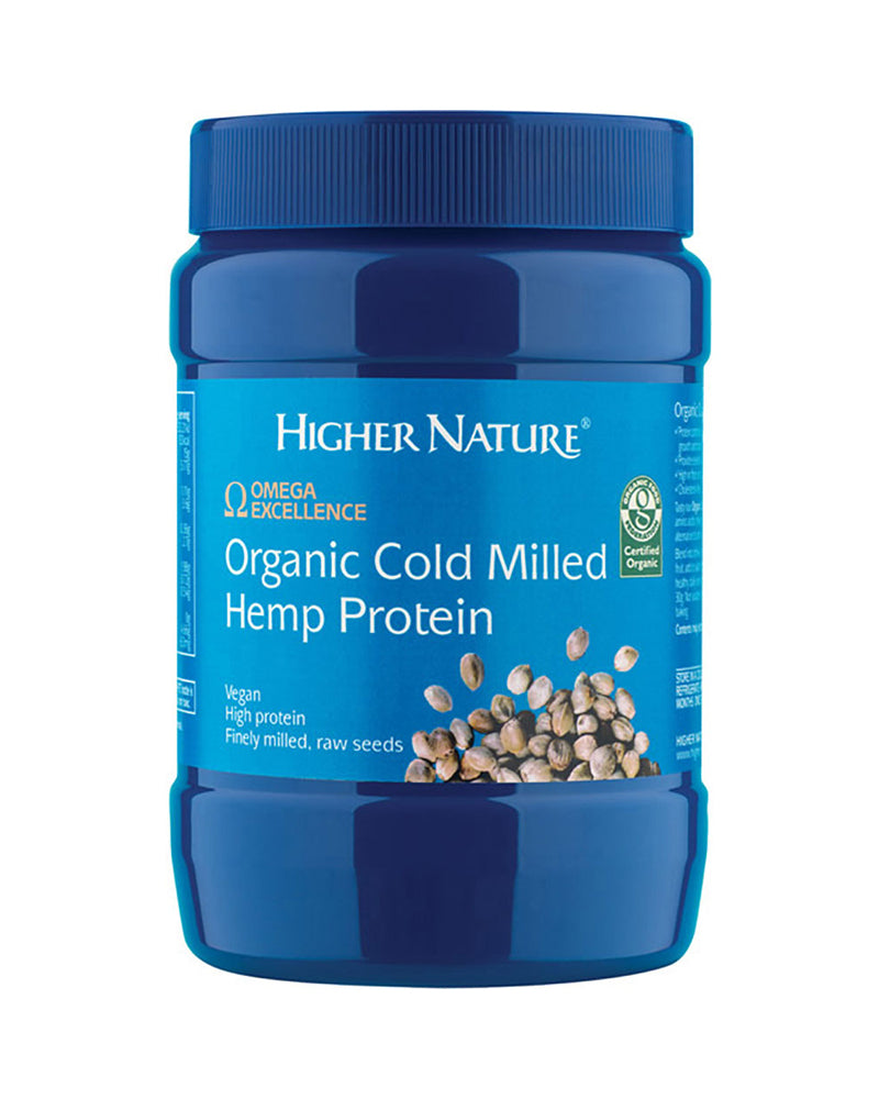 Higher Nature Organic Cold Milled Hemp Protein, 250gr