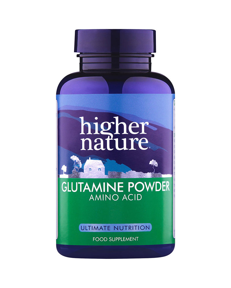 Higher Nature Glutamine Powder, 100gr