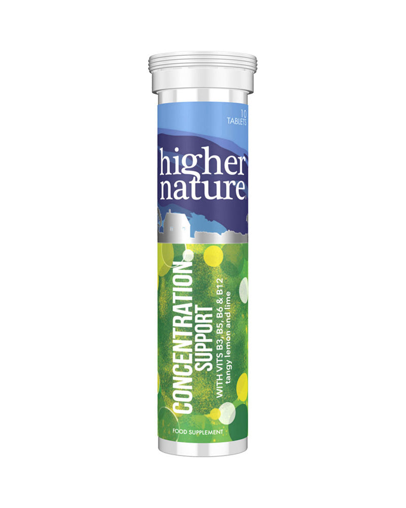 Higher Nature Concentration Support, 10Tabs