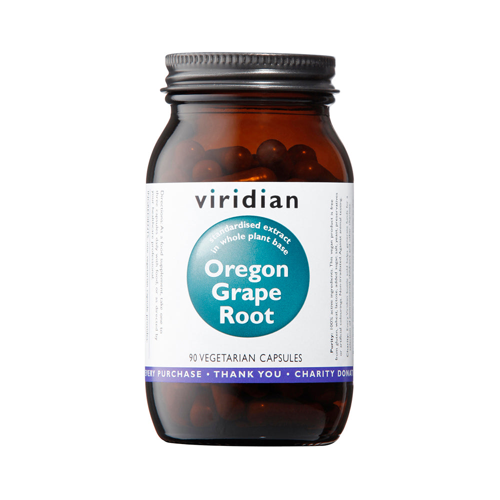 Viridian Oregon Grape Root Extract, 90 VCapsules