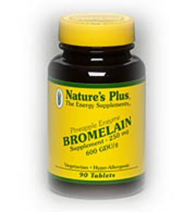 Nature's Plus Bromelain, 250mg, 90 Tablets