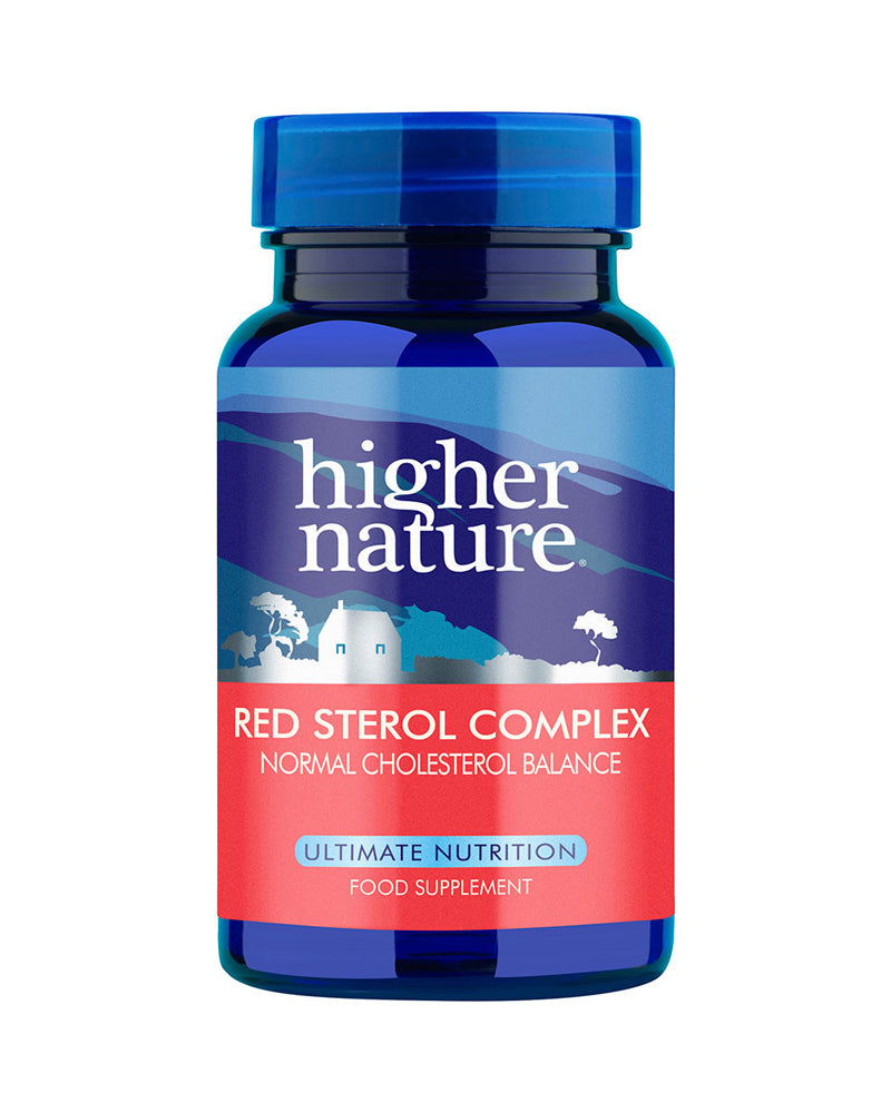 Higher Nature Red Sterol Complex, 30VCaps