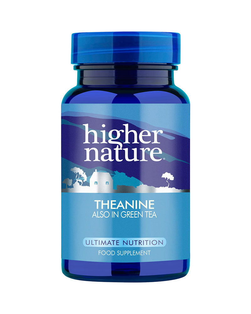 Higher Nature Theanine, 100mg, 90VCaps