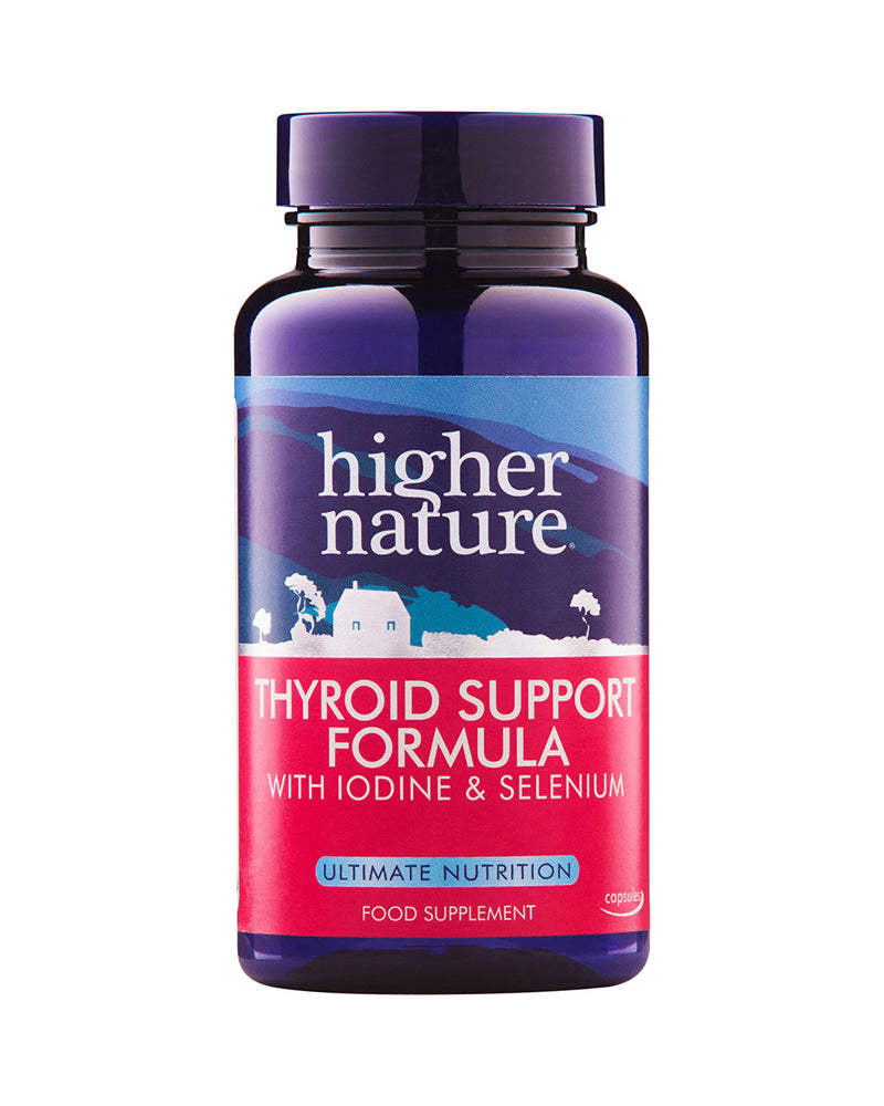 Higher Nature Thyroid Support Formula, 60Caps