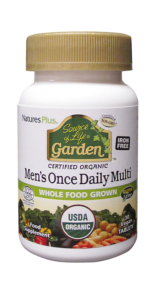 Source Of Life Garden Org Mens Daily, 30 Tablets